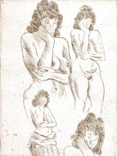 Study I Limited Edition Print - Raphael Soyer