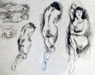 Nudes AP 1950 Limited Edition Print by Raphael Soyer - 0