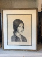 Portrait of a Girl 1980 25x21 Limited Edition Print by Raphael Soyer - 1