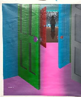 Break on Through 1992 45x40 Super Huge Original Painting by Stan Solomon - 1