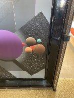 Spacescape 1989 40x36  Huge Original Painting by Stan Solomon - 3