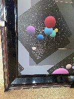 Spacescape 1989 40x36 Super Huge Original Painting by Stan Solomon - 2