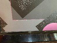 Spacescape 1989 40x36 Super Huge Original Painting by Stan Solomon - 6