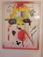 Untitled Painting 1991 54x40 Original Painting by Joseph Stabilito - 1