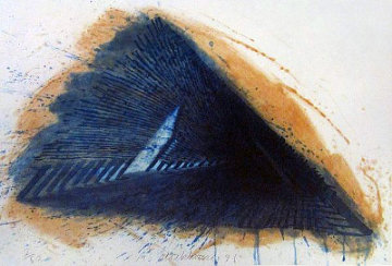 Blue Encounterings 1992 Limited Edition Print by Robert Stackhouse