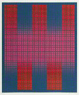 Trespass AP 1979 Limited Edition Print by Julian Stanczak - 1