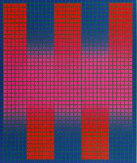 Trespass AP 1979 Limited Edition Print - Julian Stanczak