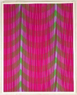 Veiled Limited Edition Print - Julian Stanczak