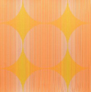 Twelve Progressions: Fractions 1971 Limited Edition Print - Julian Stanczak
