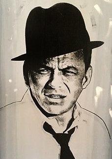Frank Sinatra   37x31 Original Painting - John Stango