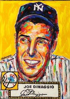 Joe Dimaggio 2015 48x36 Original Painting - John Stango