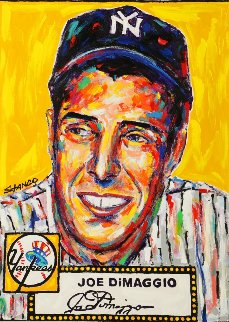 Joe Dimaggio 2015 48x36 Original Painting by John Stango