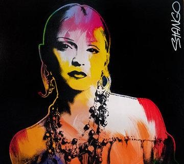 Madonna 1994 41x38 Original Painting - John Stango