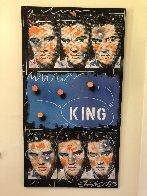 King 1995 54x30 Elvis Original Painting by John Stango - 2