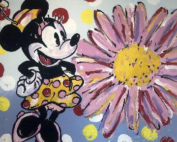 Minnie And Daisy 2008 38x47 Original Painting by John Stango
