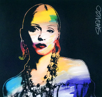 Madonna Unique 2000 37x40 Original Painting - John Stango