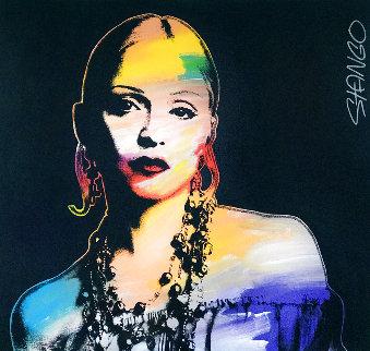 Madonna Unique 2000 37x40 Huge Original Painting - John Stango