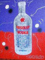 Absolute Vodka 30x23 Original Painting by John Stango - 1