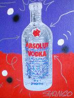 Absolute Vodka 30x23 Original Painting by John Stango - 0
