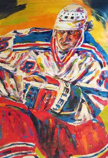 Wayne Gretzky 55x48 Original Painting - John Stango