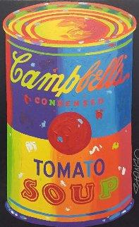 Campbells Soup 1990 45x32 Original Painting by John Stango