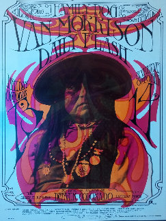 Van Morrison in Denver Colorado at the Family Dog Poster 1967 HS Other by Stanley Mouse