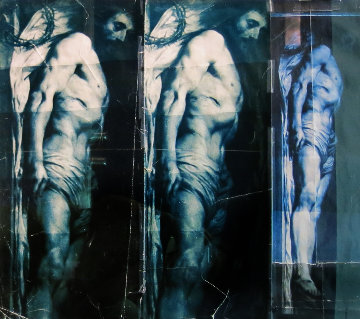 Triple Christ 1987 43x40 Photography - Doug and Mike Starn