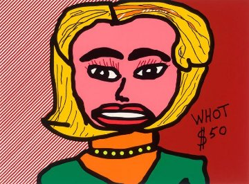 Whot $50 (You Never Give Me Your Money) 2012 Limited Edition Print - Ringo Starr