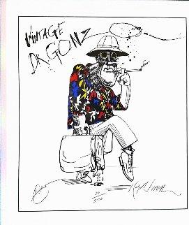 Vintage Dr Gonzo 1995 Limited Edition Print - Ralph Steadman