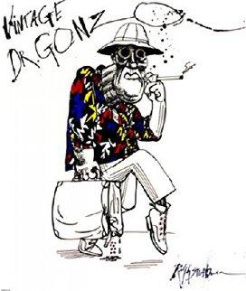 Dr Gonzo AP 1995 Limited Edition Print - Ralph Steadman