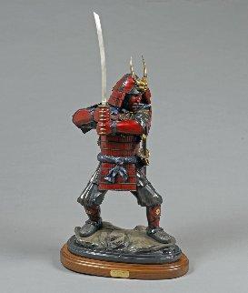 Last Samurai Bronze Sculpture  2016 37 in Sculpture - Barry Stein