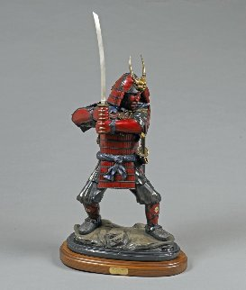 Last Samurai Bronze Sculpture  2016 37 in Sculpture by Barry Stein