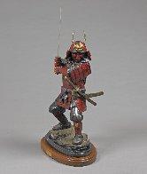 Last Samurai Bronze Sculpture  2016 37 in Sculpture by Barry Stein - 1