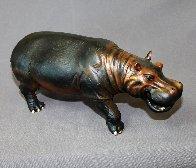 Hippopotamus  Bronze   Sculpture 2016 16 in Sculpture by Barry Stein - 0