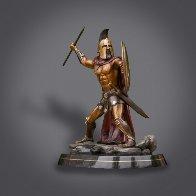 Bronze Spartan Warrior King Leonidas Prepare For Glory Sculpture 2016 26 in Sculpture by Barry Stein - 3