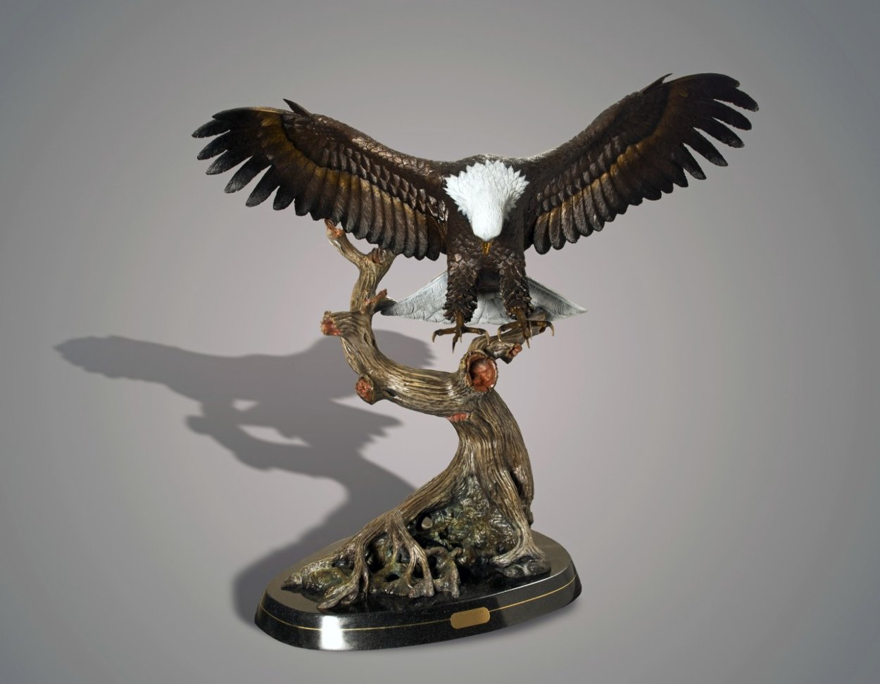 Wings of Fury 2015 40 in Sculpture by Barry Stein