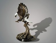 Wings of Fury 2015 40 in Sculpture by Barry Stein - 2