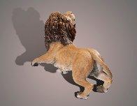 Lion Bronze Sculpture AP 2015 17x12 Sculpture by Barry Stein - 3