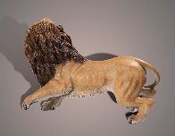 Lion Bronze Sculpture AP 2015 17x12 Sculpture by Barry Stein - 2