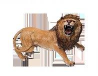 Lion Bronze Sculpture AP 2015 17x12 Sculpture by Barry Stein - 4
