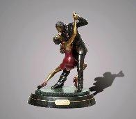 Tango Dancers Bronze Scupture 2015 18 in  Sculpture by Barry Stein - 0