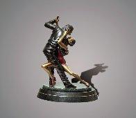 Tango Dancers Bronze Scupture 2015 18 in  Sculpture by Barry Stein - 1