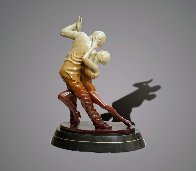 Tango Dancers Bronze Scupture 2015 18 in  Sculpture by Barry Stein - 3