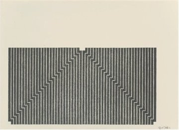 Aluminum Series - Union Pacific 1970 Limited Edition Print by Frank Stella