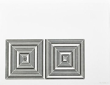 Les Indes Galantes III AP 1973 Limited Edition Print - Frank Stella