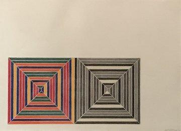 Les Indes Galantes V AP 1973  Limited Edition Print - Frank Stella