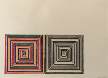 Les Indes Galantes V AP 1973  Limited Edition Print by Frank Stella