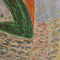 Polar Coordinates VII 1980 Unique Embellished Works on Paper (not prints) by Frank Stella - 3