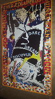 Dare Dream Discover Poster 1991 HS Limited Edition Print by Frank Stella - 1