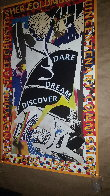 Dare Dream Discover Poster 1991 HS Limited Edition Print by Frank Stella - 6